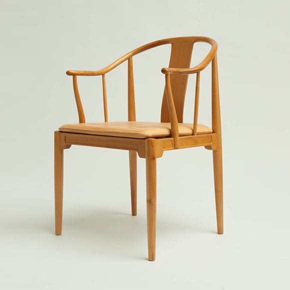 Cherrywood China Chair, Model 4283.