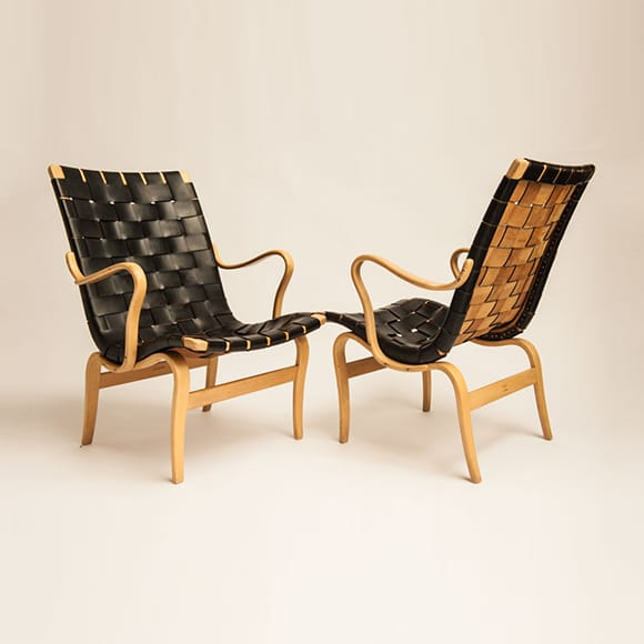 Scandinavian Eva Chairs, Set of 2