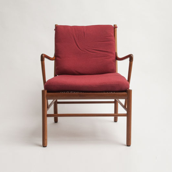 The Colonial Chair, Red Fabric