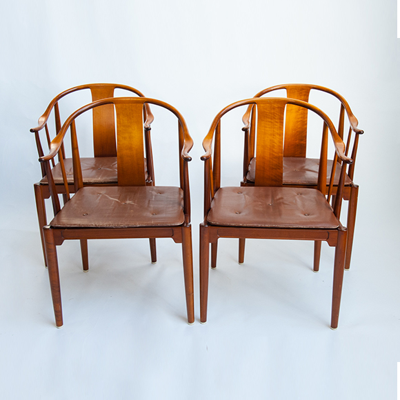 China Chairs, Set Of Four ...